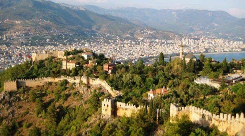 Alanya Kalesi, Sultan Sarayı 1