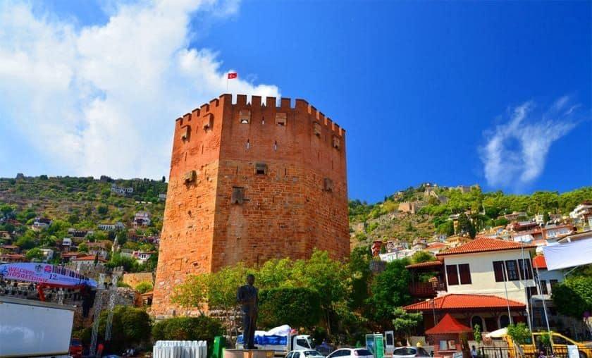 Tarihin Kanıtı, Alanya Kızıl Kule