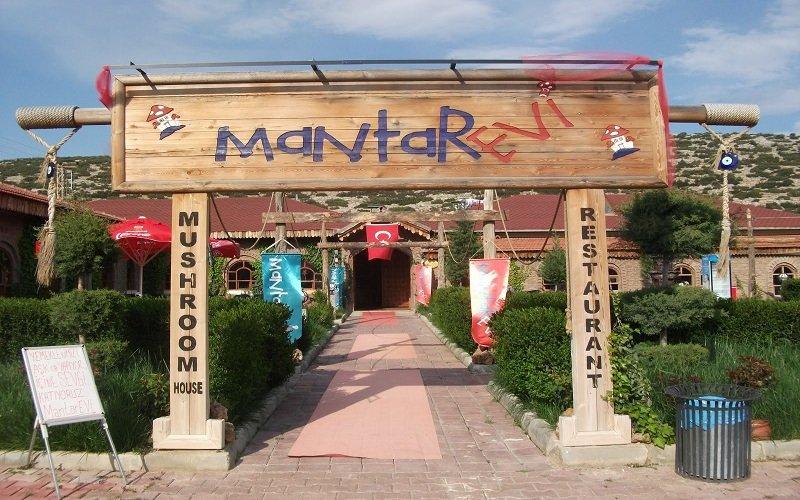 Mantar Evi Restoran - Antalya