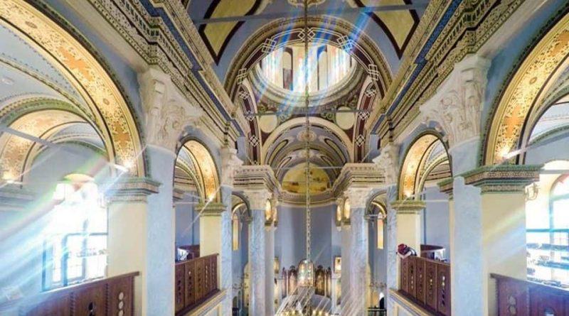 Rahmi Koç Müzesi Taksiyarhis Kilisesi iç görünüm